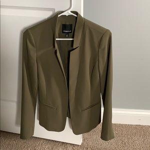 Olive green Trouve blazer